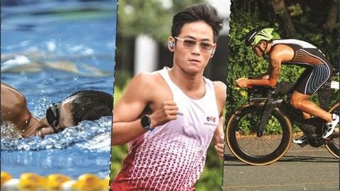 Le triathlon, nouvel objectif du nageur Quang Nhat hinh anh 1