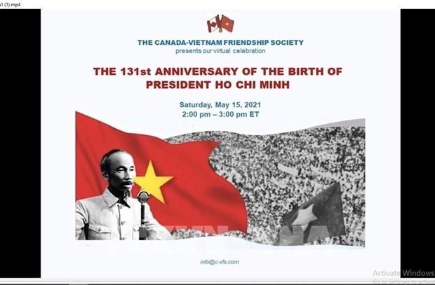 Un seminaire au Canada met en lumiere la vie et la carriere de Ho Chi Minh hinh anh 1
