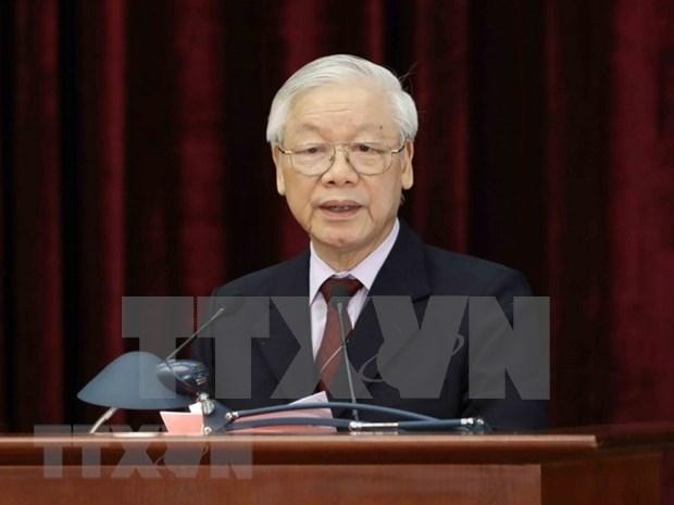 Le leader du Parti souligne le socialisme et le chemin vers le socialisme au Vietnam hinh anh 1