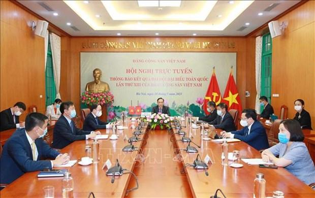 Informer le Parti du peuple cambodgien des resultats du 13e Congres du Parti communiste du Vietnam hinh anh 1