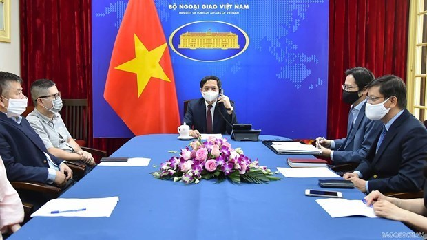 Vietnam wants to strengthen the strategic partnership with the United Kingdom, hinh anh 1