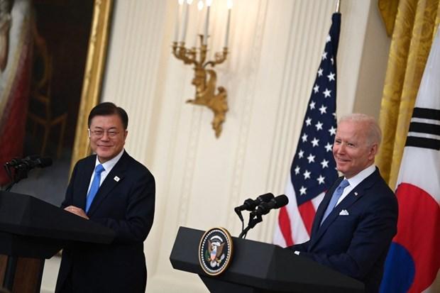 La declaration commune Etats-Unis – R. de Coree affirme le role central de l'ASEAN hinh anh 1