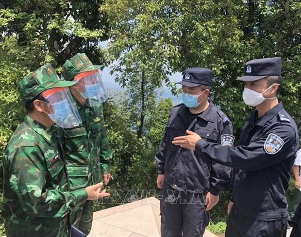 Les garde-frontieres du Vietnam, de la Chine et du Laos cultivent leurs liens hinh anh 2