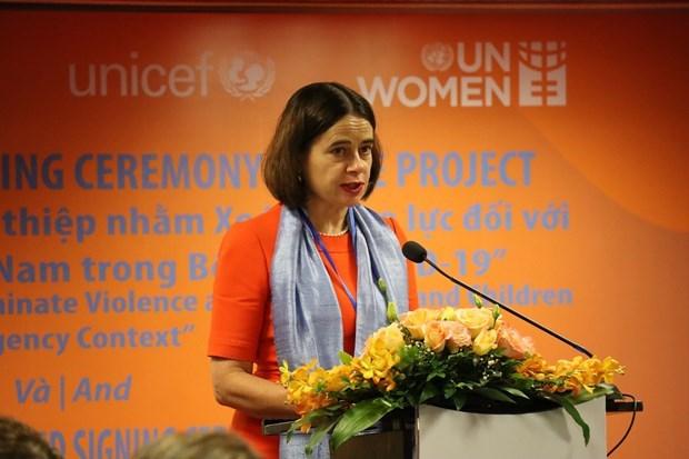 Aide financiere de l'Australie pour eliminer la violence contre les femmes et les enfants hinh anh 1