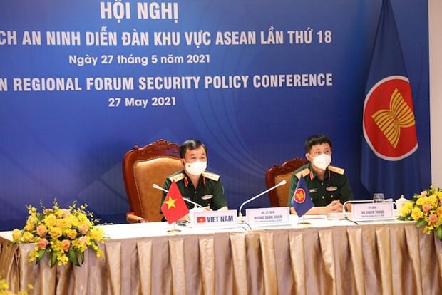 Securite : le Vietnam participe a une conference du Forum regional de l'ASEAN hinh anh 1