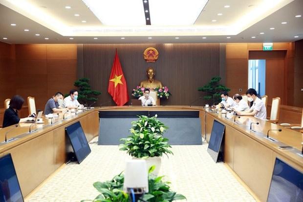 COVID-19 : le vice-PM Vu Duc Dam travaille avec les autorites de la province de Bac Giang hinh anh 1