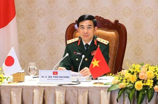 Vietnam-Japon : promotion de la cooperation dans la defense hinh anh 2