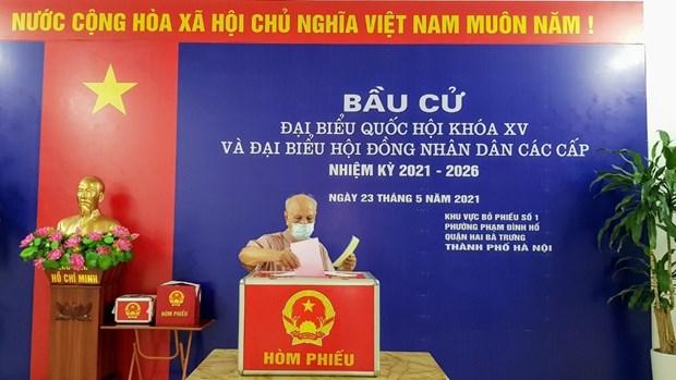 Les legislatives couronnees de succes avec plus de 69 millions d'electeurs hinh anh 1