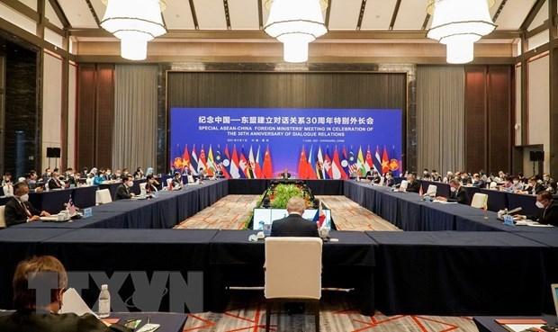 L'ASEAN et la Chine plaident pour la promotion de leur partenariat strategique hinh anh 1