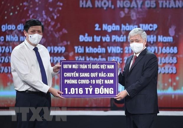 Le Fonds de vaccins anti-COVID-19 recoit des contributions volontaires d'entreprises etrangeres hinh anh 1