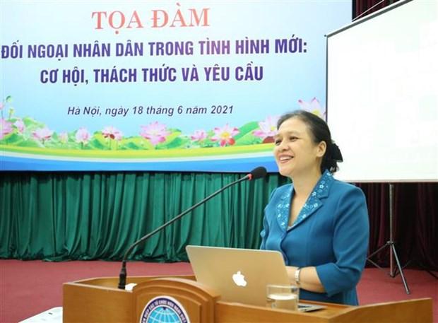 La diplomatie populaire dans la nouvelle situation en debat a Hanoi hinh anh 1