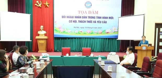 La diplomatie populaire dans la nouvelle situation en debat a Hanoi hinh anh 2