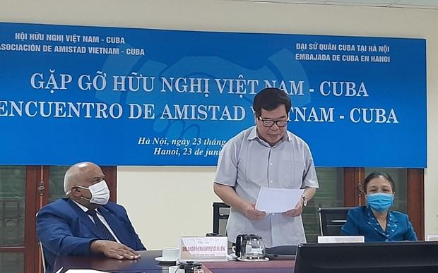 Le peuple vietnamien se tient toujours aux cotes de Cuba hinh anh 1