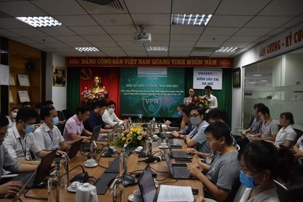 Cybersecurite : le Vietnam participe a l'exercice ASEAN-Japon 2021 hinh anh 1