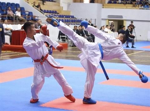 Le dojo Nghia Dung Karate-Do a Hue, une veritable ecole de vie hinh anh 3
