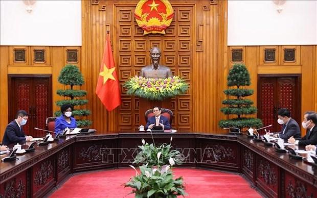 La BM s'engage a soutenir pour l'acces equitable du Vietnam aux vaccins anti-COVID-19 hinh anh 1