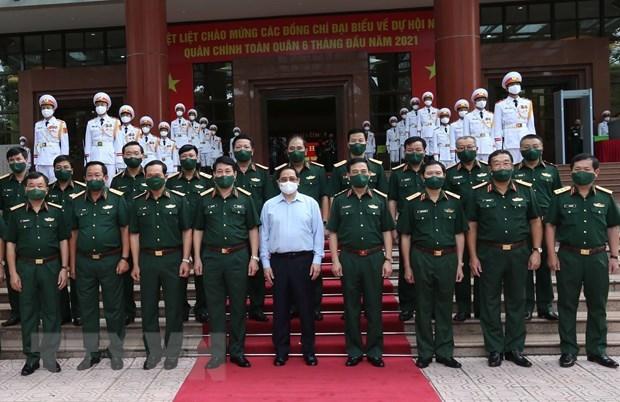 PM : L'armee contribue activement aux acquis communs du pays hinh anh 2