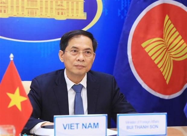 Le Vietnam assiste a la reunion speciale des ministres des Affaires etrangeres ASEAN-Russie hinh anh 1