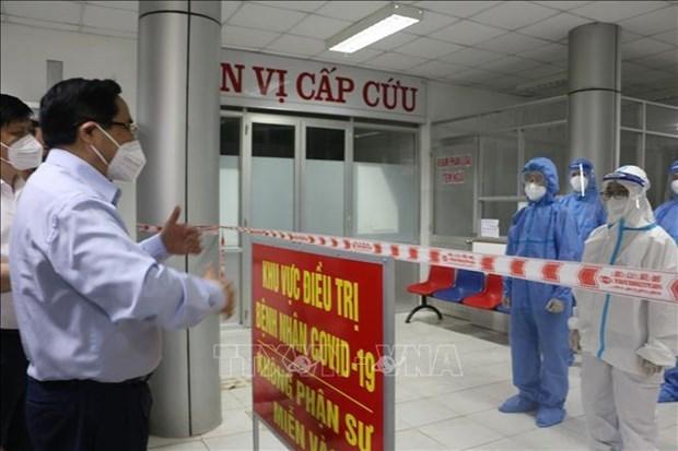 Le PM demande a Tay Ninh et Long An de durcir les mesures anti-Covid-19 hinh anh 2