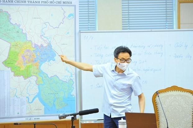 Lutte anti-Covid-19 : Ho Chi Minh-Ville va dans la bonne direction hinh anh 1