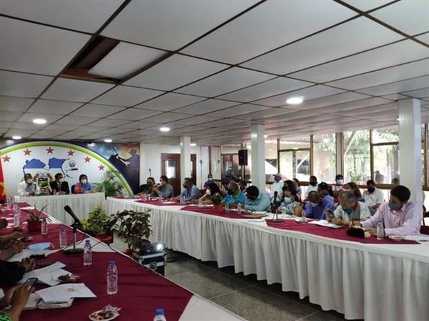 Renforcement des relations economiques entre le Vietnam et le Venezuela hinh anh 1