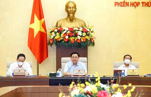 Le president de l'AN exhorte a s'attaquer aux obstacles reglementaires hinh anh 1
