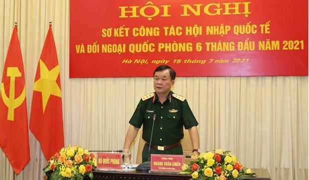 Le ministere de la Defense fait le bilan du travail de la diplomatie de defense hinh anh 2