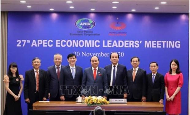 """La presence du president a l'APEC 2021 revet une """"grande importance"""" hinh anh 1"""