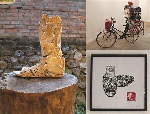Au Vietnam, une Belge donne une autre vie aux sandales perdues hinh anh 2