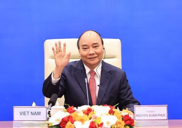 Allocution du president Nguyen Xuan Phuc a la reunion informelle des dirigeants de l'APEC hinh anh 1
