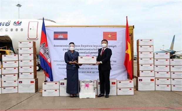 COVID-19 : Lettre de remerciement au Cambodge pour son soutien a Ho Chi Minh-Ville hinh anh 1