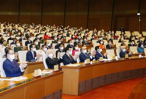 La 15e Assemblee nationale inaugure sa premiere session a Hanoi hinh anh 2