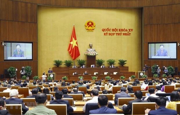 Communique de presse sur la 3e journee de la premiere session de l'AN hinh anh 1