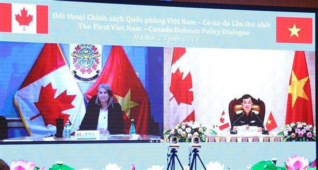 Le premier Dialogue sur la politique de defense Vietnam - Canada hinh anh 1