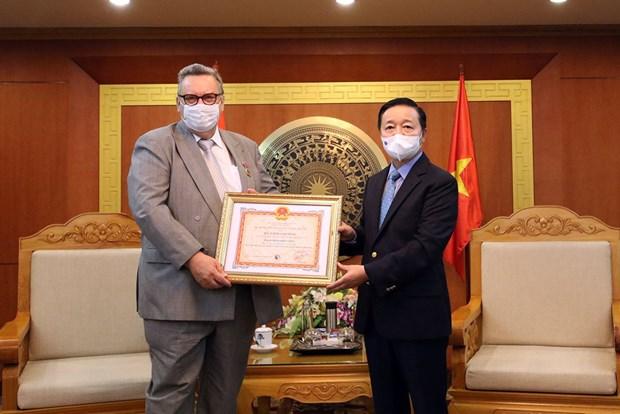 L'ambassadeur de Finlande au Vietnam a l'honneur hinh anh 1