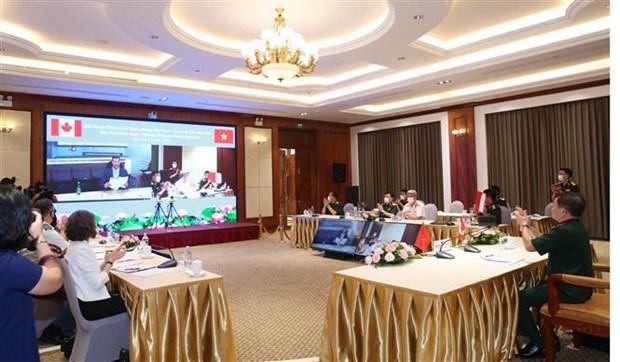 Le premier Dialogue sur la politique de defense Vietnam - Canada hinh anh 2