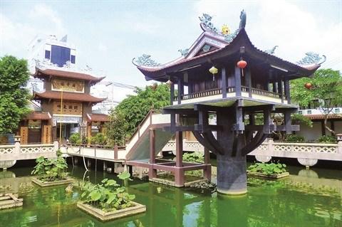 La Pagode au Pilier unique de Hanoi a aussi son imitateur au Sud hinh anh 1
