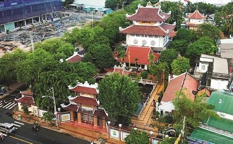 La Pagode au Pilier unique de Hanoi a aussi son imitateur au Sud hinh anh 2