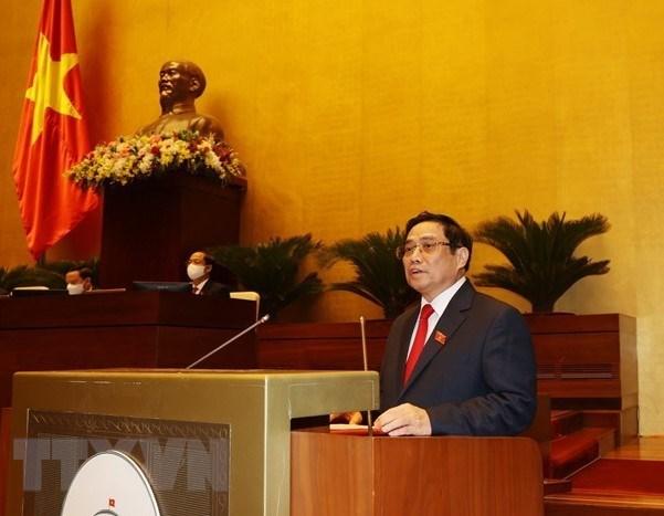 Le Premier ministre soumet la liste des 27 membres du nouveau gouvernement hinh anh 1