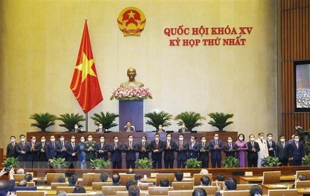 La 15e AN : nomination des ministres et des autres membres du gouvernement hinh anh 1