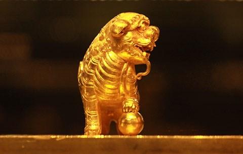 Quatre tresors nationaux en or du Vietnam auront leurs timbres hinh anh 2