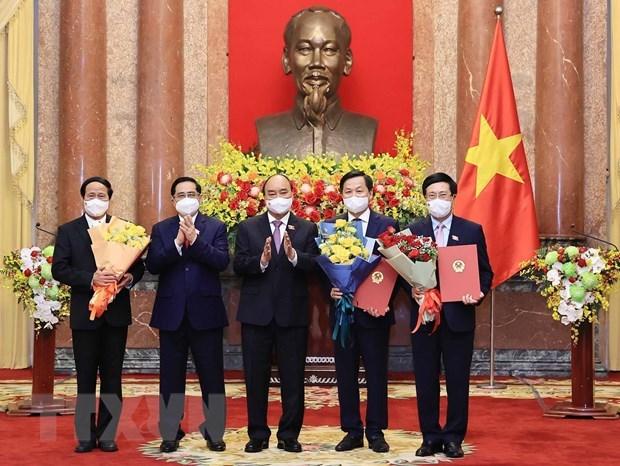 Le president remet la decision de nommer les membres du gouvernement hinh anh 1
