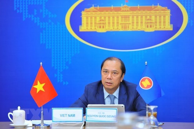 Le Vietnam a une reunion des hauts officiels de l'ASEAN hinh anh 1