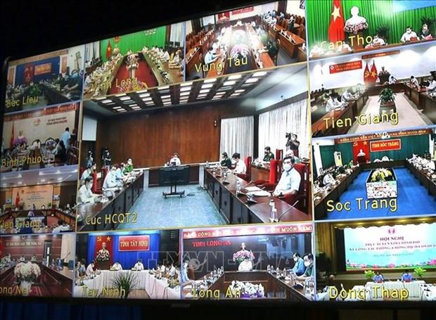 Le vice-PM Vu Duc Dam exhorte a veiller sur le personnel de sante et la population hinh anh 2