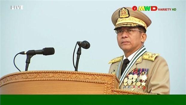 Le Myanmar s'engage a travailler avec l'envoye special de l'ASEAN hinh anh 1