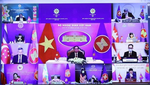 Les 54 ans de l'ASEAN : l'or s'eprouve par le feu hinh anh 1