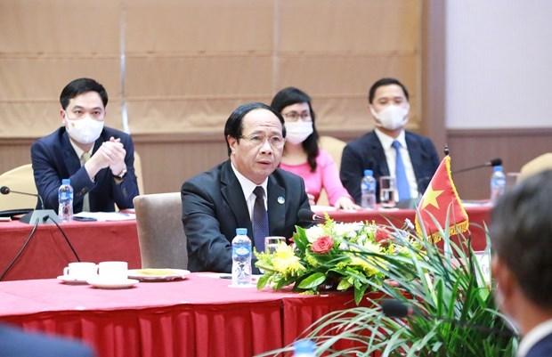 Vietnam-Laos : Entretien entre des vice-Premiers ministres hinh anh 1