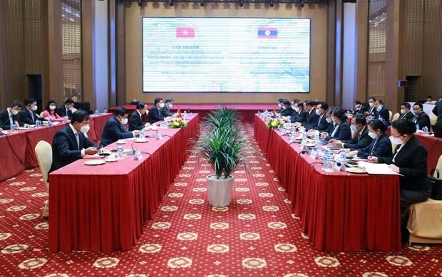 Vietnam-Laos : Entretien entre des vice-Premiers ministres hinh anh 2