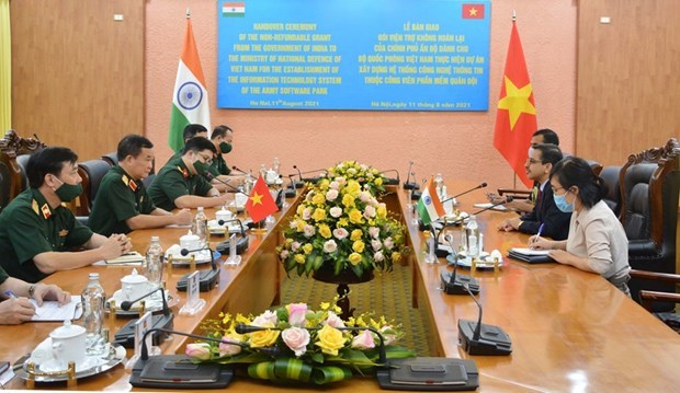L'Inde aide le ministere vietnamien de la Defense a construire un systeme informatique hinh anh 1
