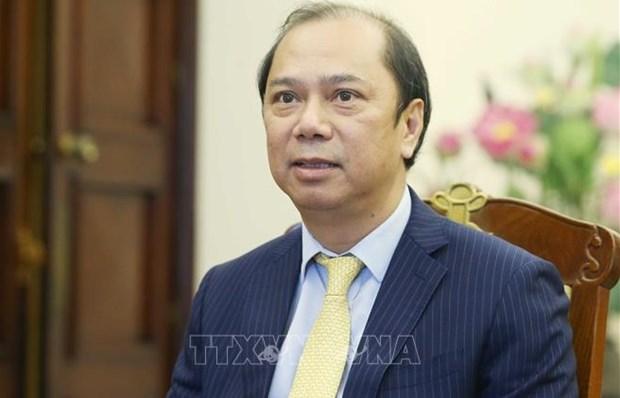 La visite au Laos du president vietnamien ''enregistre des resultats complets et substantiels'' hinh anh 2